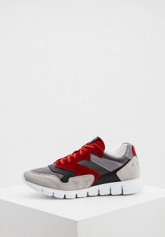 Кроссовки, Pollini, цвет: серый. Артикул: PO756AMJKCR8. Обувь / Кроссовки и кеды