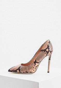 Туфли, Pollini, цвет: розовый. Артикул: PO756AWJKCQ1. Обувь / Туфли / Лодочки
