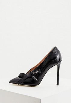 Туфли, Pollini, цвет: черный. Артикул: PO756AWJKCT0. Обувь / Туфли