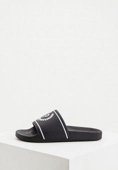 Сланцы, Pollini, цвет: черный. Артикул: PO756AWJKCU5. Обувь / Резиновая обувь