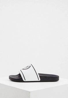 Сланцы, Pollini, цвет: белый. Артикул: PO756AWJKCU6. Обувь / Резиновая обувь
