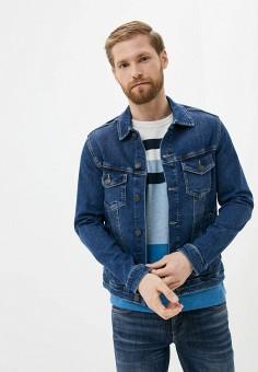 Куртка джинсовая, Produkt, цвет: синий. Артикул: PR030EMIYNC6. Одежда / Верхняя одежда / Джинсовые куртки