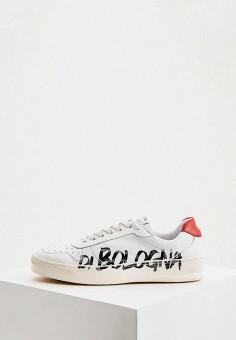 Кеды, Principe di Bologna, цвет: белый. Артикул: PR465AMIQIN1. Обувь / Кроссовки и кеды / Кеды