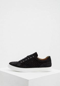 Кеды, Principe di Bologna, цвет: черный. Артикул: PR465AMIQIN6. Обувь / Кроссовки и кеды / Кеды