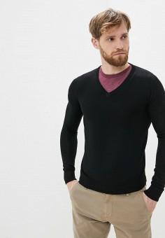 Пуловер, Primo Emporio, цвет: черный. Артикул: PR760EMHQZQ4. Одежда / Джемперы, свитеры и кардиганы / Джемперы и пуловеры