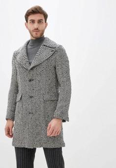 Пальто, Primo Emporio, цвет: серый. Артикул: PR760EMHQZT4. Одежда / Верхняя одежда / Пальто