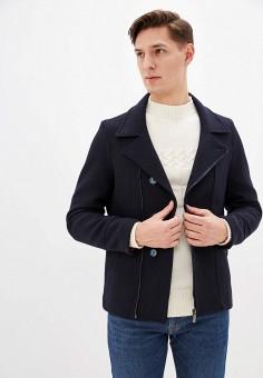 Полупальто, Primo Emporio, цвет: синий. Артикул: PR760EMHQZT5. Одежда / Верхняя одежда / Пальто