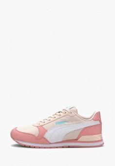 Кроссовки, PUMA, цвет: розовый. Артикул: PU053AGIHNO9. Девочкам / Спорт
