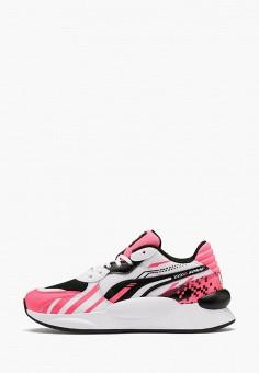 Кроссовки, PUMA, цвет: розовый. Артикул: PU053AGIHNQ6.