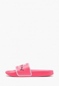 Сланцы, PUMA, цвет: розовый. Артикул: PU053AGIHNR0.
