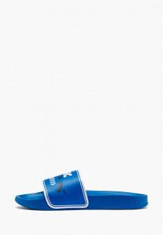 Сланцы, PUMA, цвет: синий. Артикул: PU053AKIHNQ9.