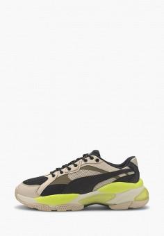 Кроссовки, PUMA, цвет: бежевый. Артикул: PU053AUIHJE3.