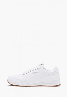 Кроссовки, PUMA, цвет: белый. Артикул: PU053AUKJOA2. Обувь / Кроссовки и кеды