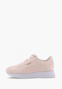 Кроссовки, PUMA, цвет: розовый. Артикул: PU053AWIHKD7.