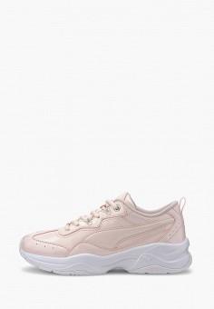 Кроссовки, PUMA, цвет: розовый. Артикул: PU053AWIHKE4.