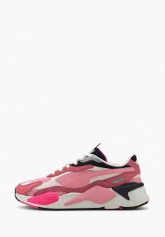 Кроссовки, PUMA, цвет: розовый. Артикул: PU053AWIHKF3. Спорт