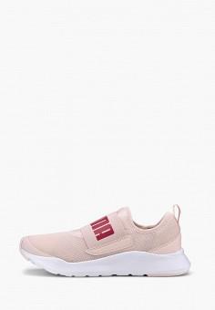 Кроссовки, PUMA, цвет: розовый. Артикул: PU053AWIHKJ3.