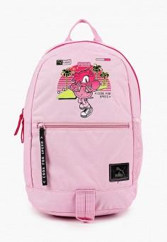 Рюкзак, PUMA, цвет: розовый. Артикул: PU053BGJZQV6. Девочкам / Аксессуары