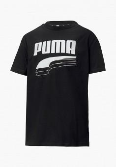 Футболка, PUMA, цвет: черный. Артикул: PU053EBIHLA7.