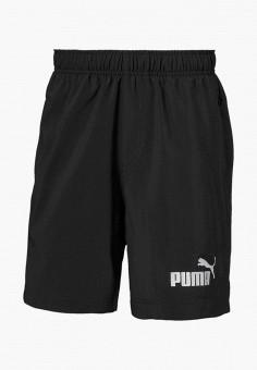 Шорты спортивные, PUMA, цвет: черный. Артикул: PU053EBIHLD5.