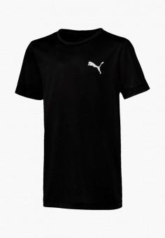 Футболка спортивная, PUMA, цвет: черный. Артикул: PU053EBIHLD9.