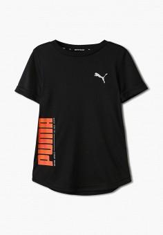 Футболка спортивная, PUMA, цвет: черный. Артикул: PU053EBIHLP4.