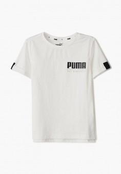 Футболка, PUMA, цвет: белый. Артикул: PU053EBIHLQ7.