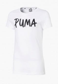Футболка, PUMA, цвет: белый. Артикул: PU053EGEGCT3.