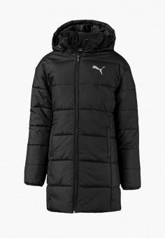 Куртка утепленная, PUMA, цвет: черный. Артикул: PU053EGEGCU1.