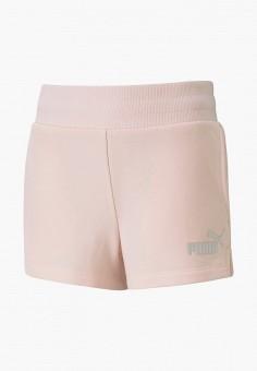 Шорты спортивные, PUMA, цвет: розовый. Артикул: PU053EGIHLB5.