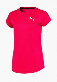 Футболка спортивная, PUMA, цвет: розовый. Артикул: PU053EGIHLD3.