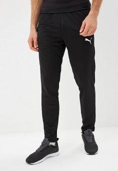 Брюки спортивные, PUMA, цвет: черный. Артикул: PU053EMCJKP7. Одежда / Брюки / Спортивные брюки
