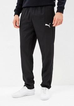 Брюки спортивные, PUMA, цвет: черный. Артикул: PU053EMCJKQ5. Одежда / Брюки