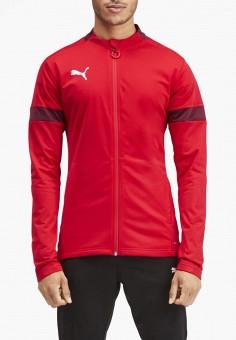 Костюм спортивный, PUMA, цвет: красный, черный. Артикул: PU053EMFRIV3.