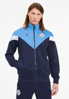 Олимпийка, PUMA, цвет: синий. Артикул: PU053EMIGUJ5.