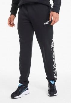 Брюки спортивные, PUMA, цвет: черный. Артикул: PU053EMIGZU1. Одежда / Брюки / Спортивные брюки