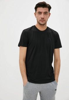 Футболка домашняя, PUMA, цвет: черный. Артикул: PU053EMIHHL8. Одежда / Домашняя одежда