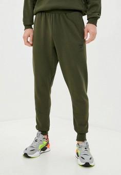 Брюки спортивные, PUMA, цвет: хаки. Артикул: PU053EMJZOS8. Одежда / Брюки / Спортивные брюки
