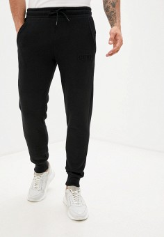 Брюки спортивные, PUMA, цвет: черный. Артикул: PU053EMJZPG4. Одежда / Брюки