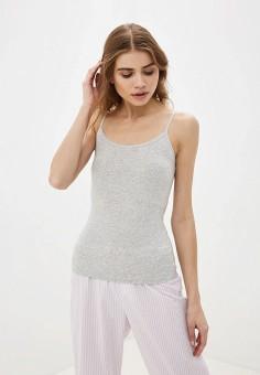 Топ бельевой, PUMA, цвет: серый. Артикул: PU053EWFXUK4. Одежда / Домашняя одежда