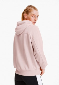 Худи, PUMA, цвет: розовый. Артикул: PU053EWIHBC1. Одежда / Толстовки и свитшоты