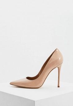Туфли, Pura Lopez, цвет: бежевый. Артикул: PU761AWESTZ5. Обувь / Туфли / Лодочки