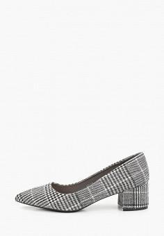 Туфли, Queen Vivi, цвет: черный. Артикул: QU004AWHCZA9. Обувь / Туфли