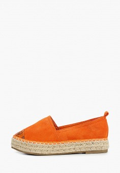 Эспадрильи, Queen Vivi, цвет: оранжевый. Артикул: QU004AWJHWF4. Обувь / Эспадрильи