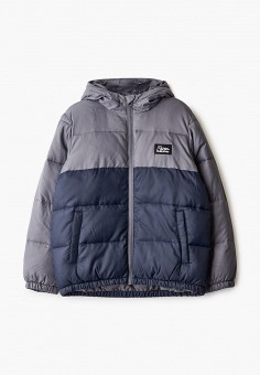 Куртка утепленная, Quiksilver, цвет: синий. Артикул: QU192EBFZRJ8. Мальчикам / Одежда / Верхняя одежда / Куртки и пуховики