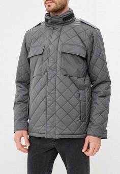 Куртка утепленная, Quiksilver, цвет: хаки. Артикул: QU192EMCFGD2. Одежда / Верхняя одежда