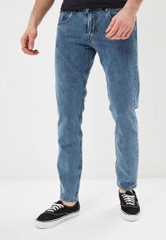 Джинсы, Quiksilver, цвет: голубой. Артикул: QU192EMEGTV5. Одежда / Джинсы / Прямые джинсы