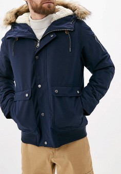 Куртка утепленная, Quiksilver, цвет: синий. Артикул: QU192EMFZPB7. Одежда / Верхняя одежда / Демисезонные куртки