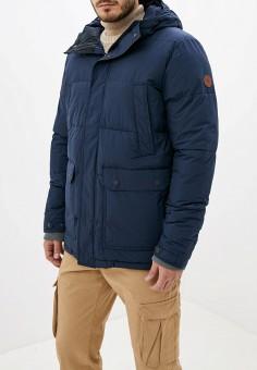 Куртка утепленная, Quiksilver, цвет: синий. Артикул: QU192EMFZPC4. Одежда / Верхняя одежда / Демисезонные куртки