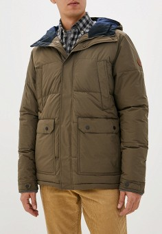 Куртка утепленная, Quiksilver, цвет: коричневый. Артикул: QU192EMFZPC5. Одежда / Верхняя одежда / Демисезонные куртки